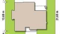 Минимальные размеры участка для проекта Zx56 bg