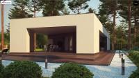 Проект дома Zx80 Фото 3