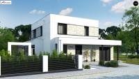 Проект дома с гаражом 150 кв м zx92 GP