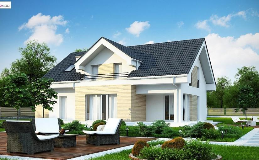 Проект дома Z160 A GP