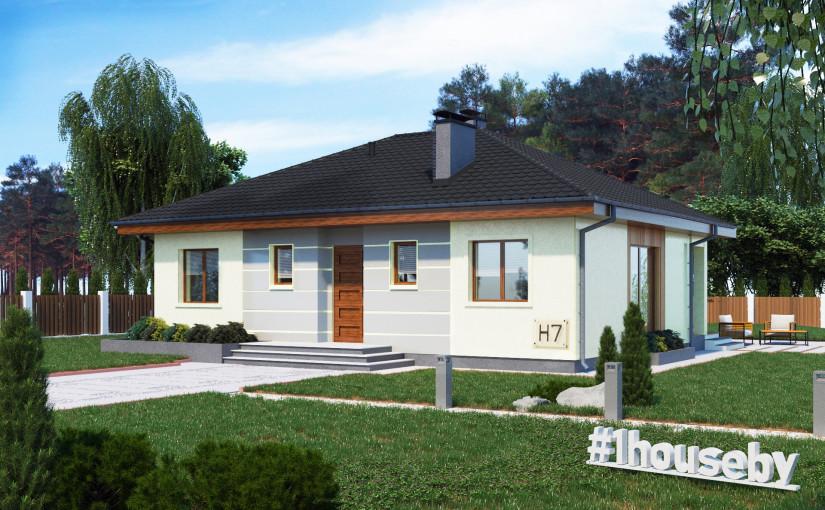 Проект дома ZH7