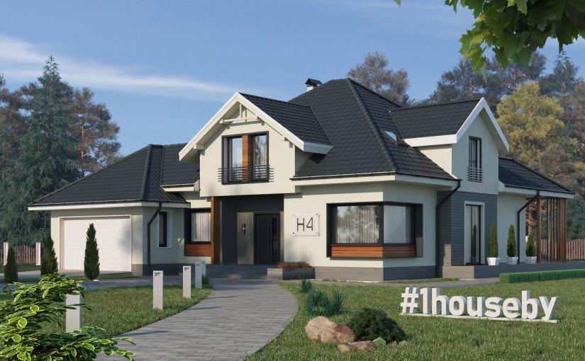Проект дома ZH4