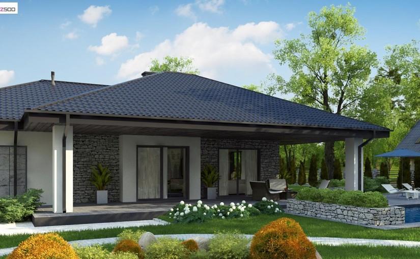 Проект дома Z279