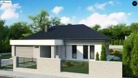 Проект дома Z384