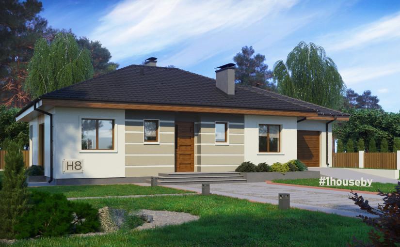 Проект дома ZH8