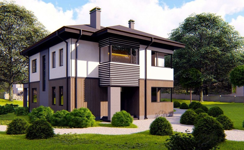 Проект дома Zz9