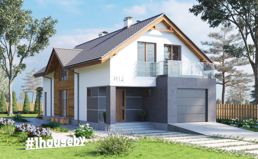 Проект дома ZH12