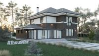 Проект дома ZH9