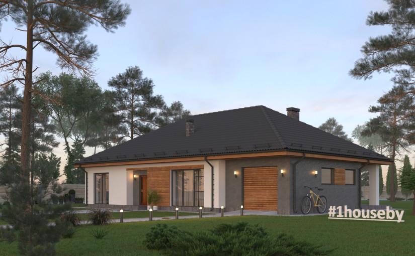 Проект дома ZH16