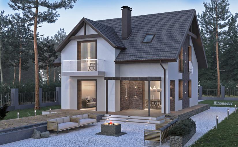 Проект дома ZH18