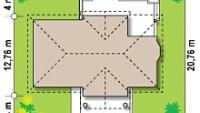 Минимальные размеры участка для проекта Z2+ w p