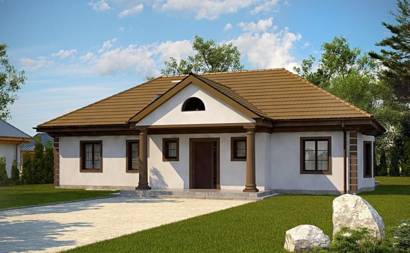 Проект дома Z2+ w p