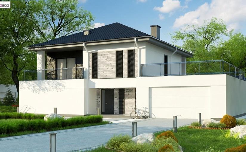 Проект дома Z291