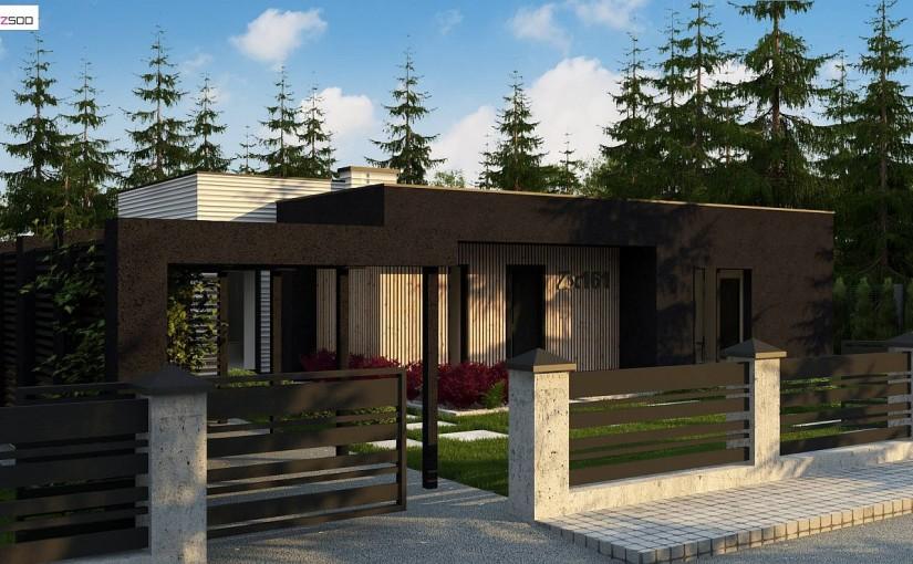 Проект дома Zx161