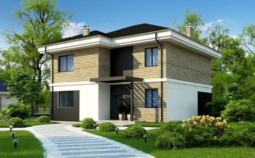 Проект дома Zz1a