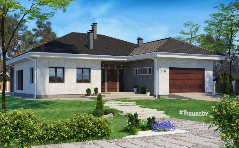 Проект дома ZH14