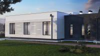Проект одноэтажного загородного дома ZH19
