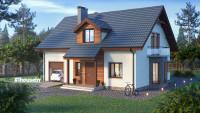 Проект дома ZH20