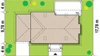 Минимальные размеры участка для проекта Z106 GL2