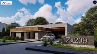 Проект дома Zx209
