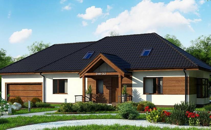 Проект дома Z106 GL2