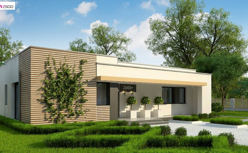 Проект дома Zx53 +
