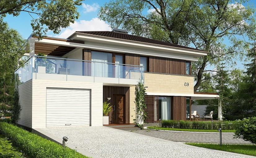 Проект дома Zx63C