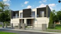 Проект дома на 2 семьи Zb30