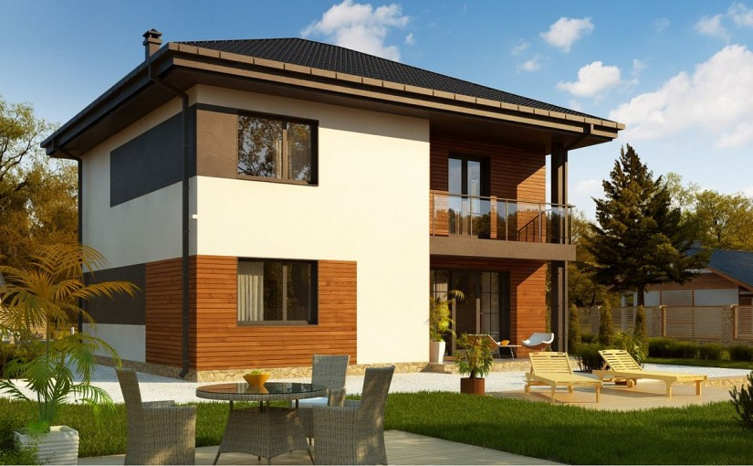Проект дома Zz1