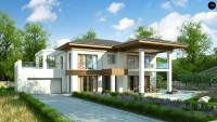Проект дома с мансардой и гаражом 150 Zz201