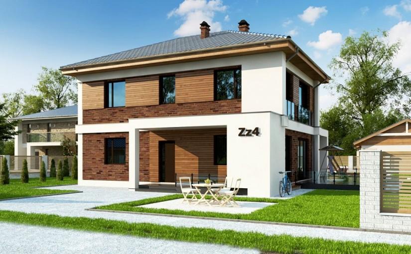 Проект дома Zz4