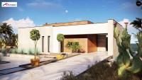 Проект дачного дома Zx208
