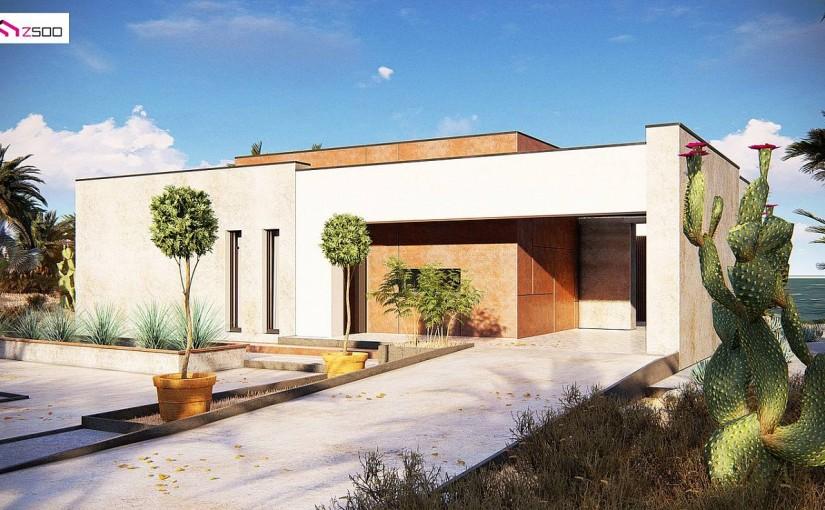 Проект дома Zx208