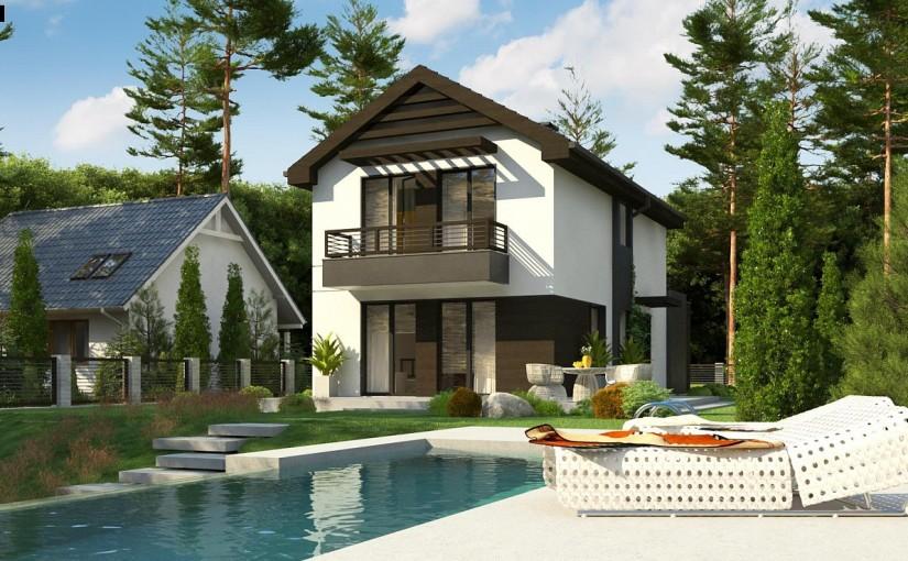 Проект дома Z374