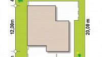 Минимальные размеры участка для проекта Zx57+