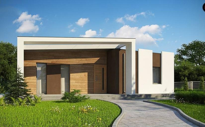 Проект дома Zx57+