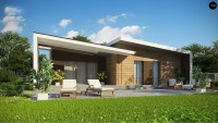 Проект дома Zx57+ Фото 2