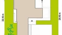 Минимальные размеры участка для проекта Zx154