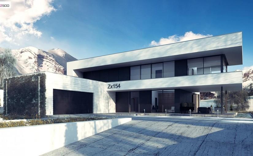 Проект дома Zx154