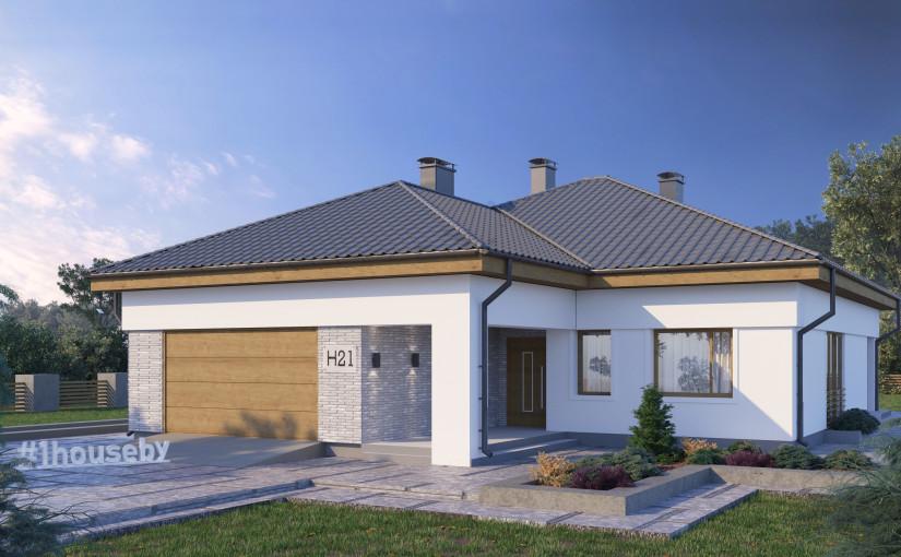 Проект дома ZH21