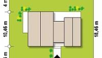 Минимальные размеры участка для проекта z461