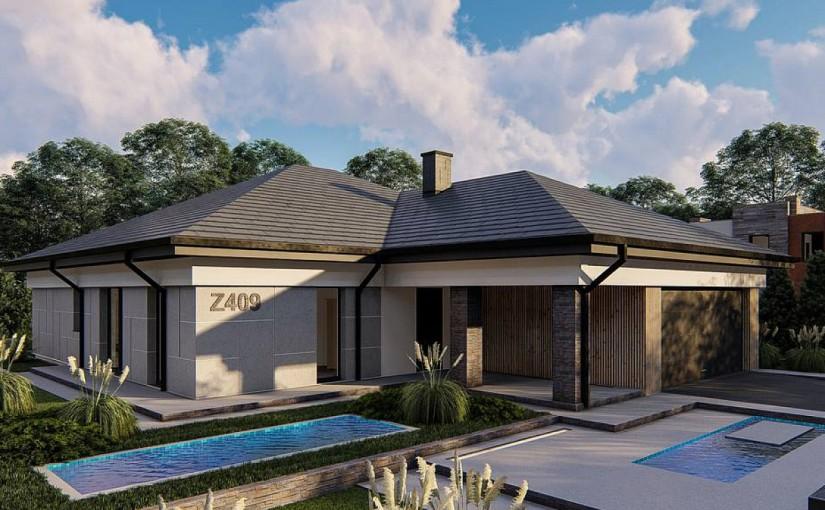 Проект дома Z409
