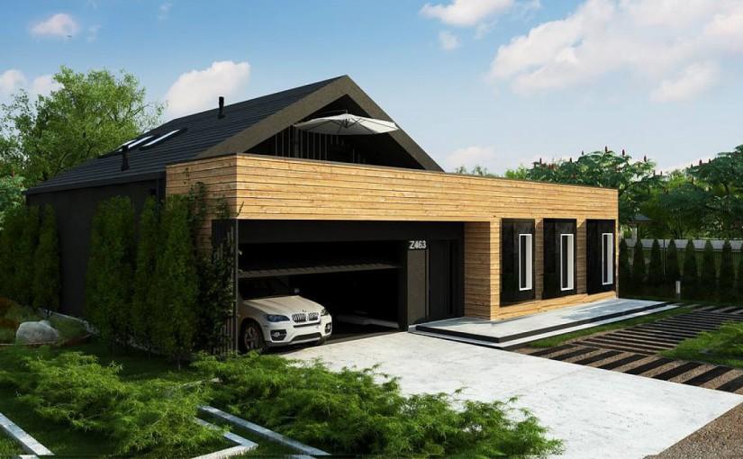 Проект дома Z463