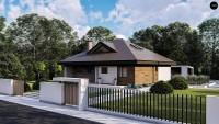 Проект дома Zz230v1 Фото 2