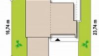 Минимальные размеры участка для проекта Zx35GL2