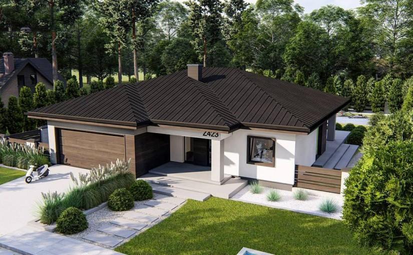 Проект дома Z423