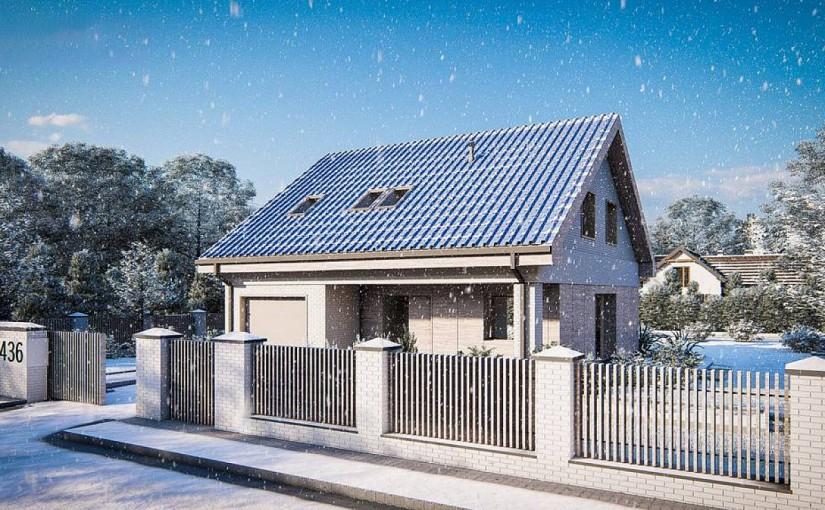 Проект дома Z436