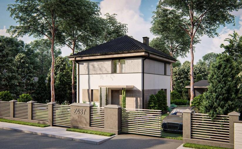 Проект дома Z437