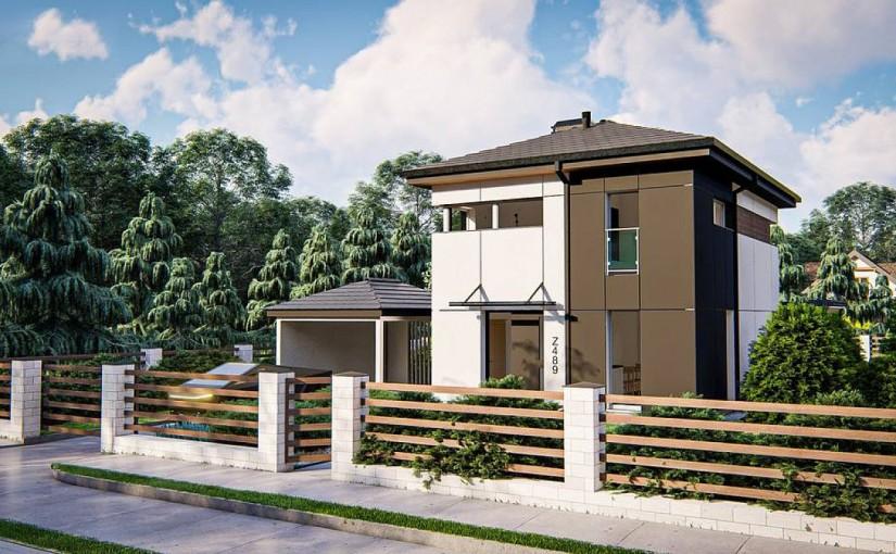 Проект дома Z489