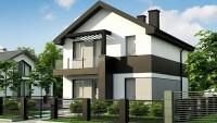 Проект дома z372 pk